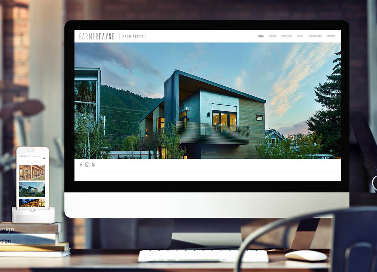 Seattle Architecture Website Design