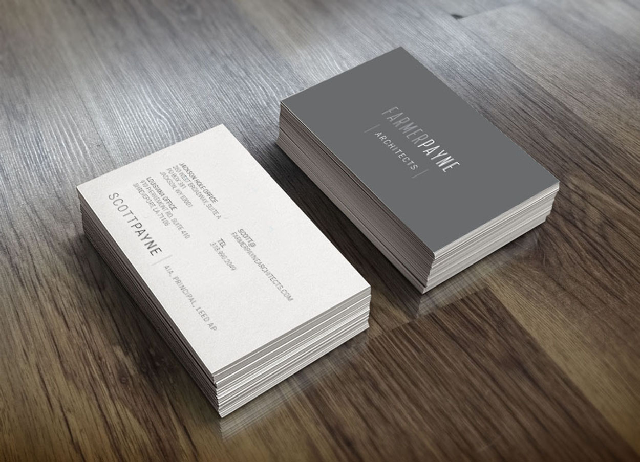 Architect Business Card - by Brand Tiger