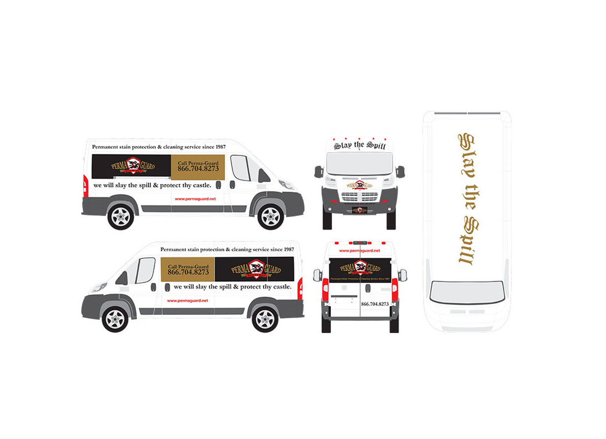 Seattle Commercial Van Graphic Design